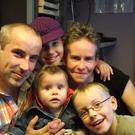 Familie Trojan- Jasmin, Silke, Lucy, Max und Daniel